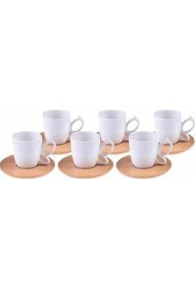 Bambum Kısmet - 6 Kişilik Kahve Fincan Takımı