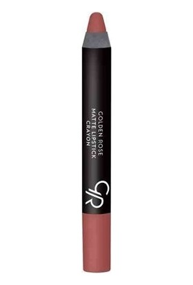 Golden Rose Matte Ruj Crayon 21