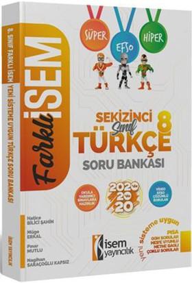 İsem 2020 Farklı İsem LGS 8. Sınıf Türkçe Soru Bankası