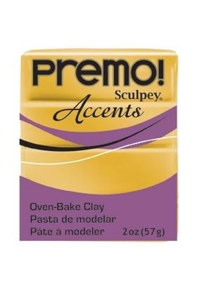 Sculpey Premo Accents Ekstra Efektli Polimer Kil 5055 18K Gold