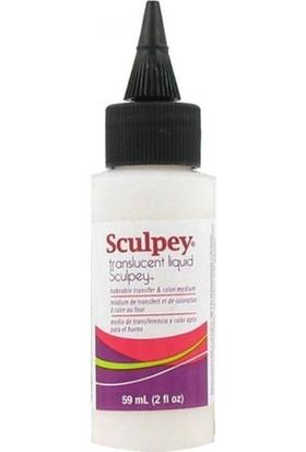 Sculpey Transluscent Liquid (Yarı Saydam Sıvı Polimer Kil, Fırınlanabilir Transfer ve Renklendirme Medyumu) 59 ml