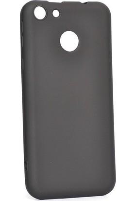Ehr. Vestel Venüs E4 Kılıf Priming Mat TPU Silikon Arka Kapak Kılıf Siyah