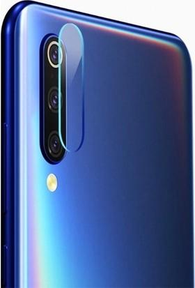 Ehr. Samsung Galaxy P20 Lite Kamera Koruyucu Cam Darbe Önleyici Kamera Koruyucu Şeffaf