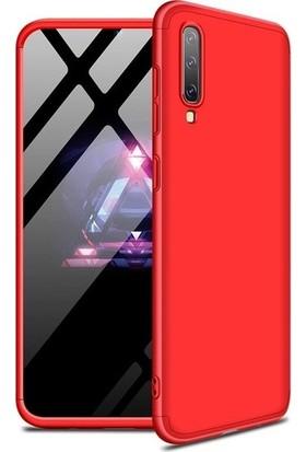Ehr. Samsung Galaxy A70 Kılıf 360 Derece Korumalı 3in1 Zone Kılıf Kırmızı