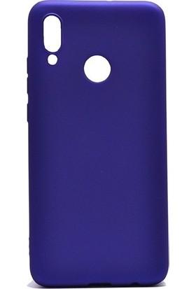 Ehr. Samsung Galaxy A20E Kılıf Priming Mat TPU Silikon Arka Kapak Kılıf Lacivert