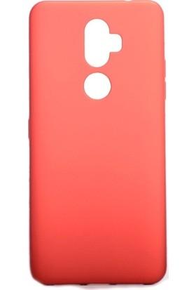 Ehr. Alcatel 3V Kılıf Priming Mat TPU Silikon Arka Kapak Kılıf Kırmızı