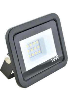 Foblight LED Projektör 10W Siyah Kasa Amber Smd LED