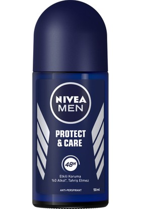 Nivea Protect Caret Erkek 50 ml Roll On 3'lü Set