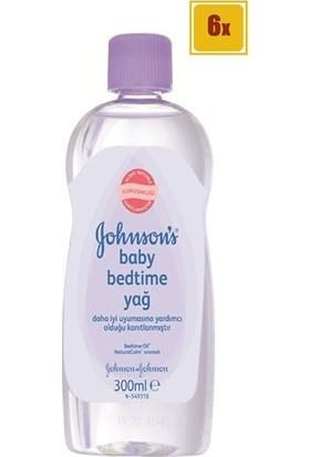 Johnson's Baby Bedtime Bebek Yağı 300 ml 6 Adet