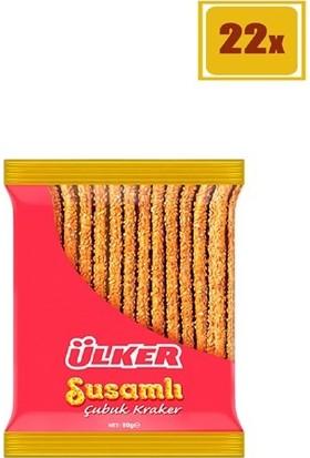 Ülker Susamlı Çubuk Kraker 80 gr 22'Li Set