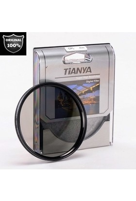 Tianya Canon 18-55 mm Lens İçin 58 mm Slim Uv + Cpl Circular Polarize Filtre + Yaprak Parasoley