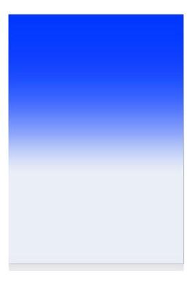 Azt Cokin P Tipi Kademeli Degrade Blue Mavi Efekt Filtre