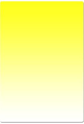 Azt Cokin P Tipi Kademeli Degrade Yellow Sarı Efekt Filtre