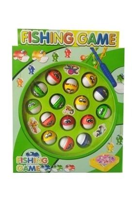 Yeşil Oyuncak Balık Yakalama Oyunu (Pilli)
