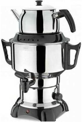 Aldente Elektirikli Büyük Boy Çelik Semaver Çaycı 6 lt