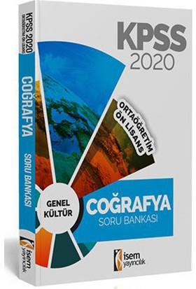 İsem 2020 KPSS Ortaöğretim Ön Lisans Coğrafya Tamamı Çözümlü Soru Bankası İsem Yayıncılık