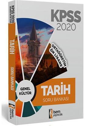 İsem 2020 KPSS Ortaöğretim Ön Lisans Tarih Tamamı Çözümlü Soru Bankası İsem Yayıncılık