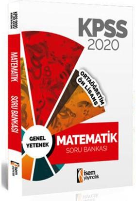 İsem 2020 KPSS Ortaöğretim Ön Lisans Matematik Tamamı Çözümlü Soru Bankası İsem Yayıncılık