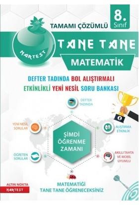 Nar Test Yayınları 8. Sınıf Tane Tane Matematik Defter Tadında Bol Alıştırmalı Etkinlikli Yeni Nesil Soru Bankası