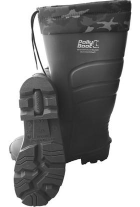 Polly Boot Galaxy Haki Çeliksiz Boğazlı