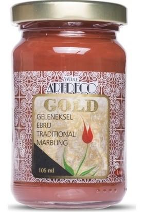 Artdeco Gold Geleneksel Ebru Boyası Oksit Kırmızı