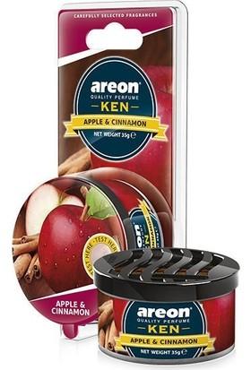Areon Ken Blıster Apple&Cınnamon (Oto Kokusu)