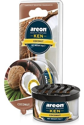 Areon Ken Blıster Coconut (Oto Kokusu)