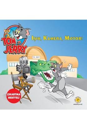 Tom Ve Jerry - Işık, Kamera, Motor - (Çıkartma Hediyeli)-Kolektif