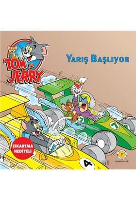 Tom Ve Jerry - Yarış Başlıyor (Çıkartma Hediyeli)-Kolektif