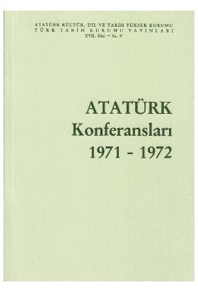 Atatürk Konferansları 1971 - 1972 Cilt: 5-Kolektif