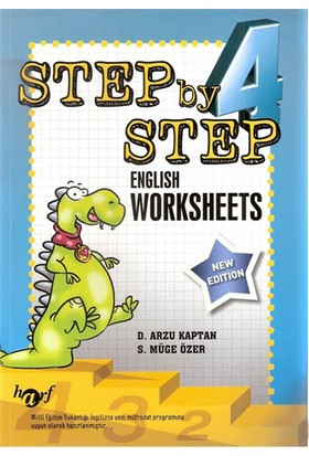Harf Step By Step 4.Sınıf English Worksheets - S. Müge Özer