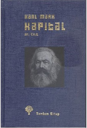Kapital-Iıı.Cilt - Ciltli-Karl Marx