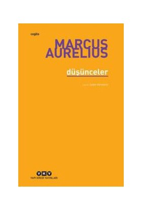 Düşünceler ( Pensleri ) - Marcus Aurelius