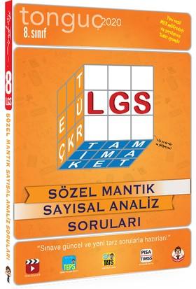 Tonguç Akademi 8.Sınıf LGS Sözel Mantık Sayısal Analiz Soruları