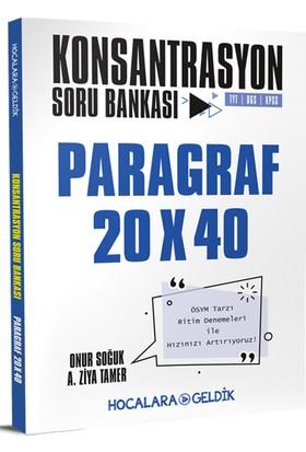Hocalara Geldik Konsantrasyon Soru Bankası / Paragraf - Onur Soğuk