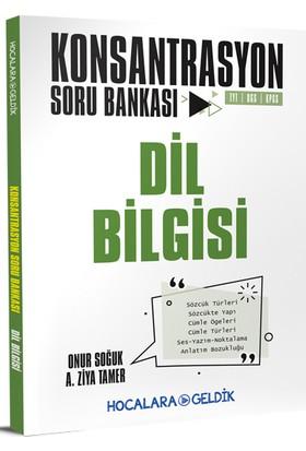 Hocalara Geldik Konsantrasyon Soru Bankası / Dil Bilgisi - Onur Soğuk