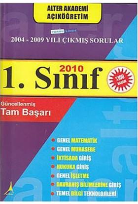 1. Sınıf 2004-2009 Paralelinde Çıkmış Sorular-Kolektif