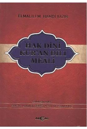 Hak Dini Kur'an Dili Meali (Küçük Boy)