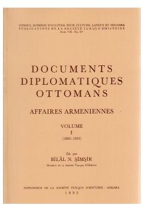 Documents Diplomatiques Ottomans Affaires Armeniennes Volume 1