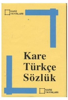 Kare Türkçe Sözlük-Kolektif