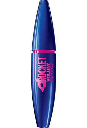 Maybelline New York Volum' Express Rocket Ekstra Siyah Maskara