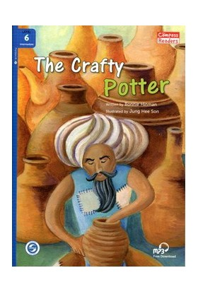The Crafty Potter +Downloadable Audio (Compass Readers 6) B1-Bonnie Hinman