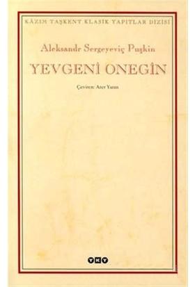 Yevgeni Onegin-Aleksandr Sergeyeviç Puşkin
