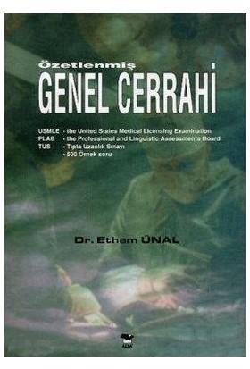 Özetlenmiş Genel Cerrahi-Ethem Ünal
