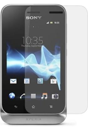 Case 4U Sony Xperia Tipo Ekran Koruyucu ( Parmak izi bırakmaz )*