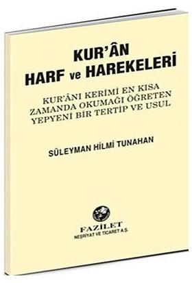 Kur'an Harf Ve Harekeleri (Küçük) - Süleyman Hilmi Tunahan