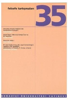 Felsefe Tartışmaları Sayı :35-Kolektif