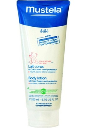 Mustela Body Lotion With Cold Cream Nutri - Protective Cold Cream İçeren Besleyici Vücut Losyonu 200 Ml