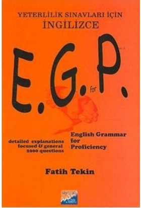 English Grammer For Proficiency Exams-Fatih Tekin