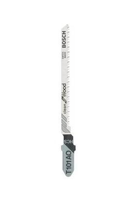 Bosch - Temiz Kesim Serisi Ahşap İçin T 101 Ao Dekupaj Testeresi Bıçağı - 5'Li Paket